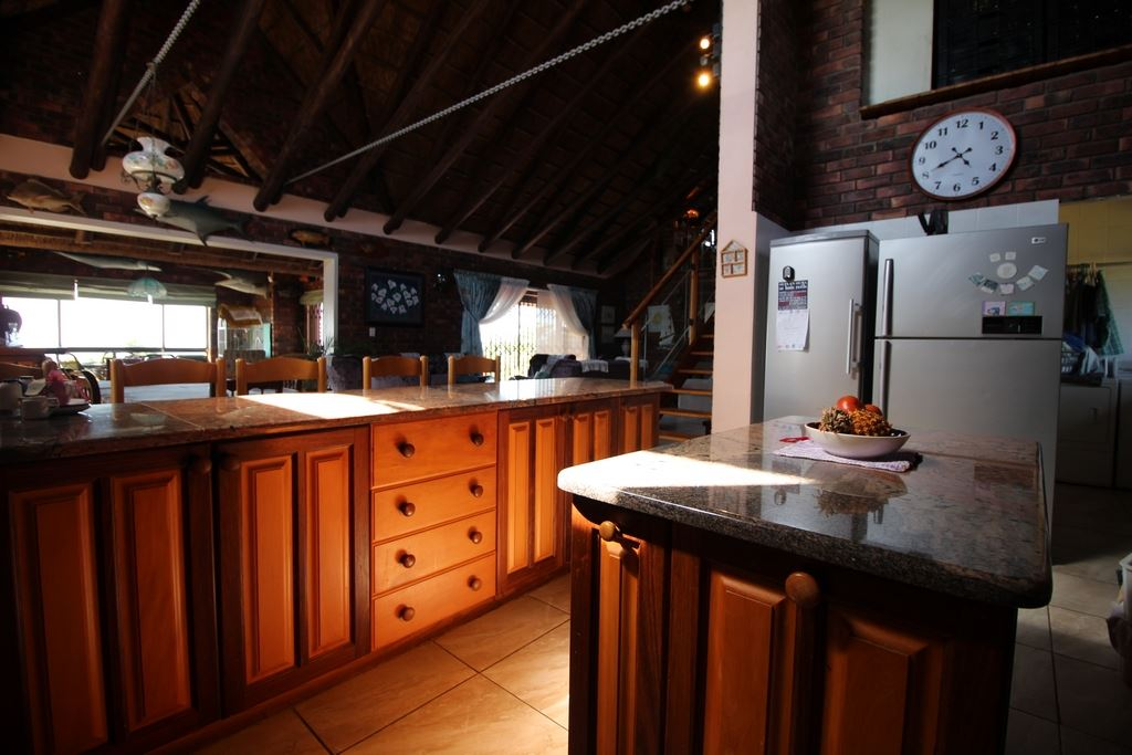 The kitchen of the lodge