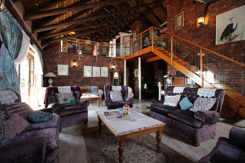 Living area of the lodge
