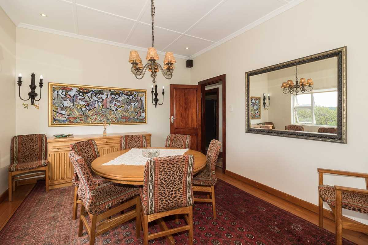 Double Storey Family Home with Flat For Sale In Port Alfred, second view of the formal dining room.