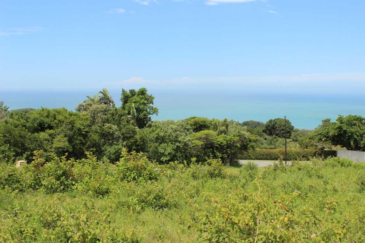 Lovely sea views from this plot