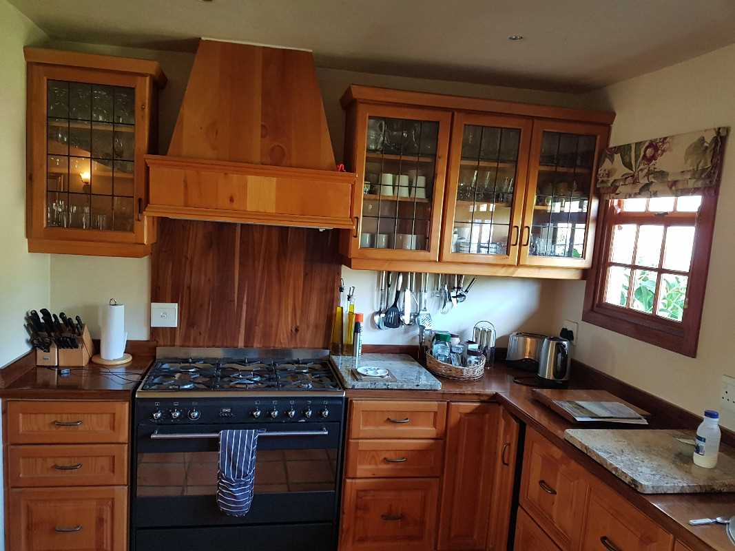 Well designed and build kitchen