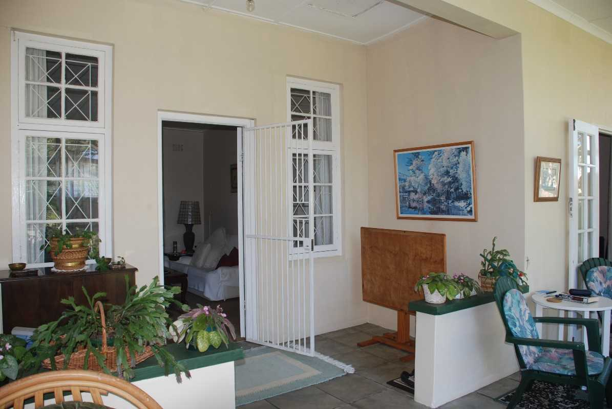 Entrance to lounge from enclosed verandah of first house