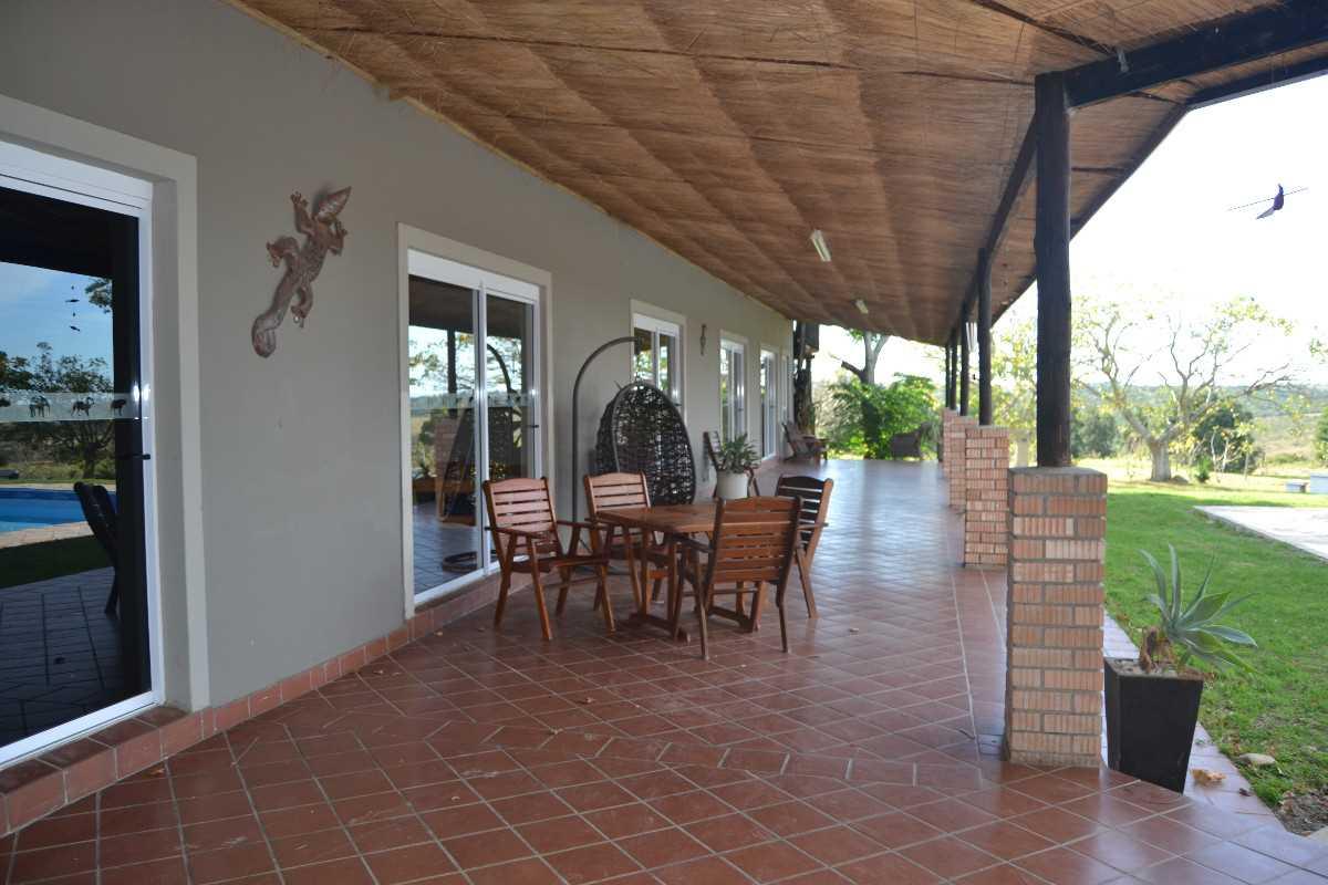 Front verandah at lodge