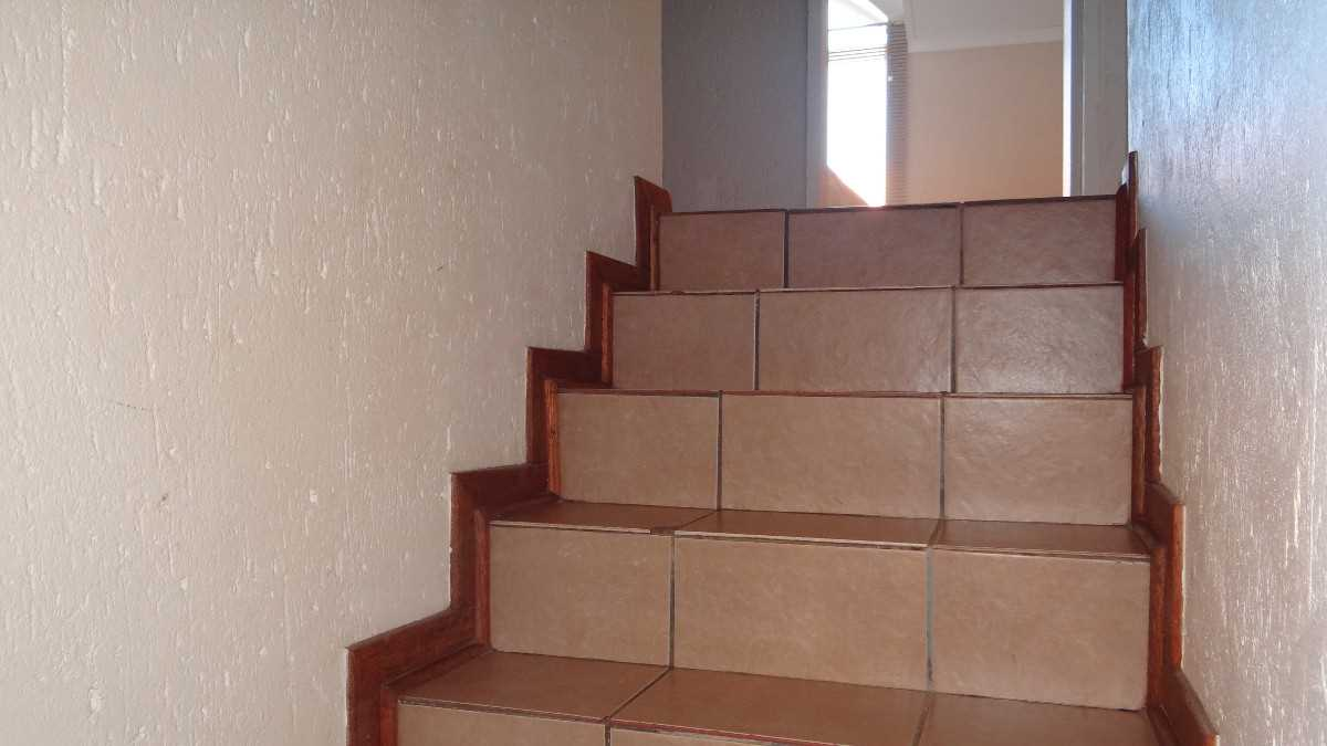 Stairs to the bedrooms.