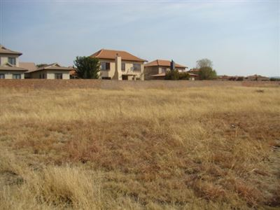 Property and Houses for sale in Savannah Country Estate, Vacant Land - ZAR 700,000