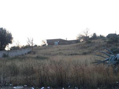 Bloemfontein, Uitsig Property    Houses For Sale Uitsig, Uitsig, Vacant Land  property for sale Price:550,000