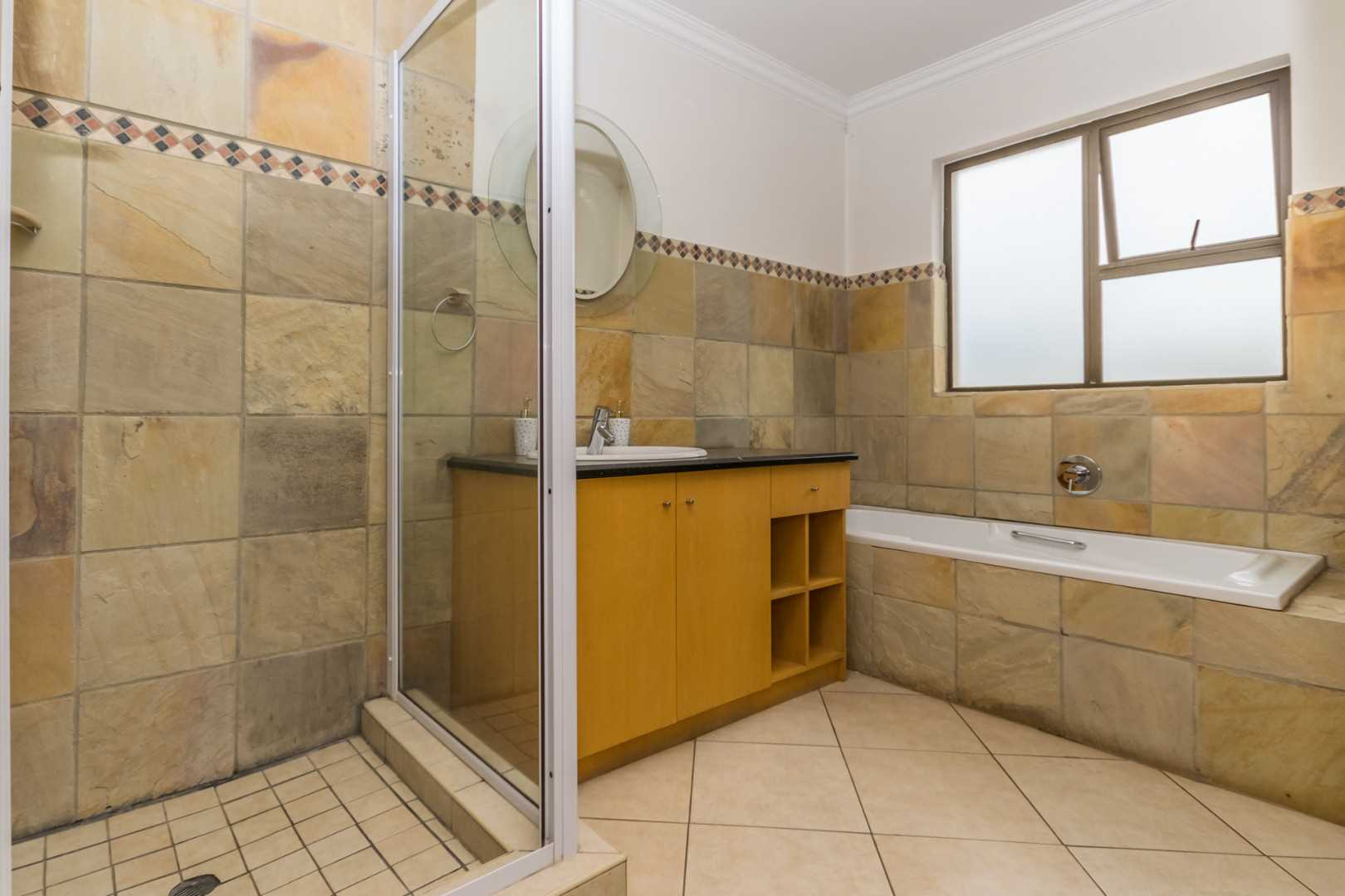 2nd Bathroom with Bath and Shower
