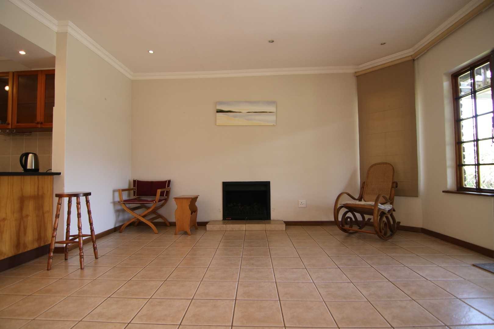 Lounge and gas fireplace