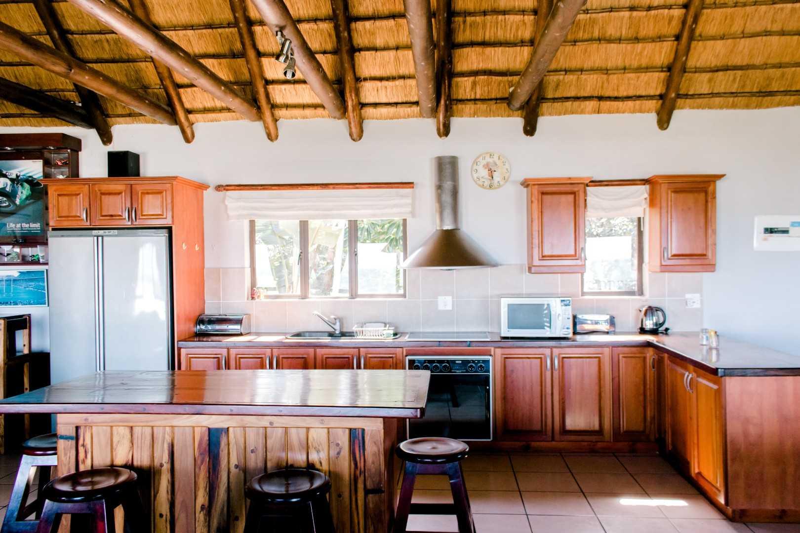 Main house's kitchen