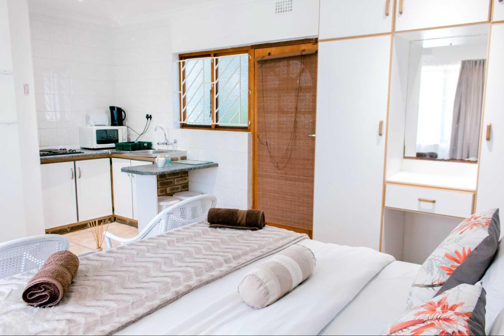 Studio unit's decor - open plan