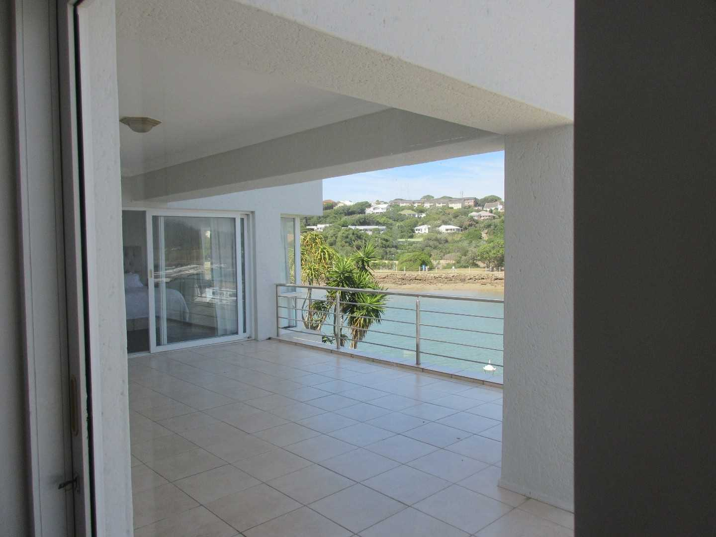Balcony access from the bedrooms