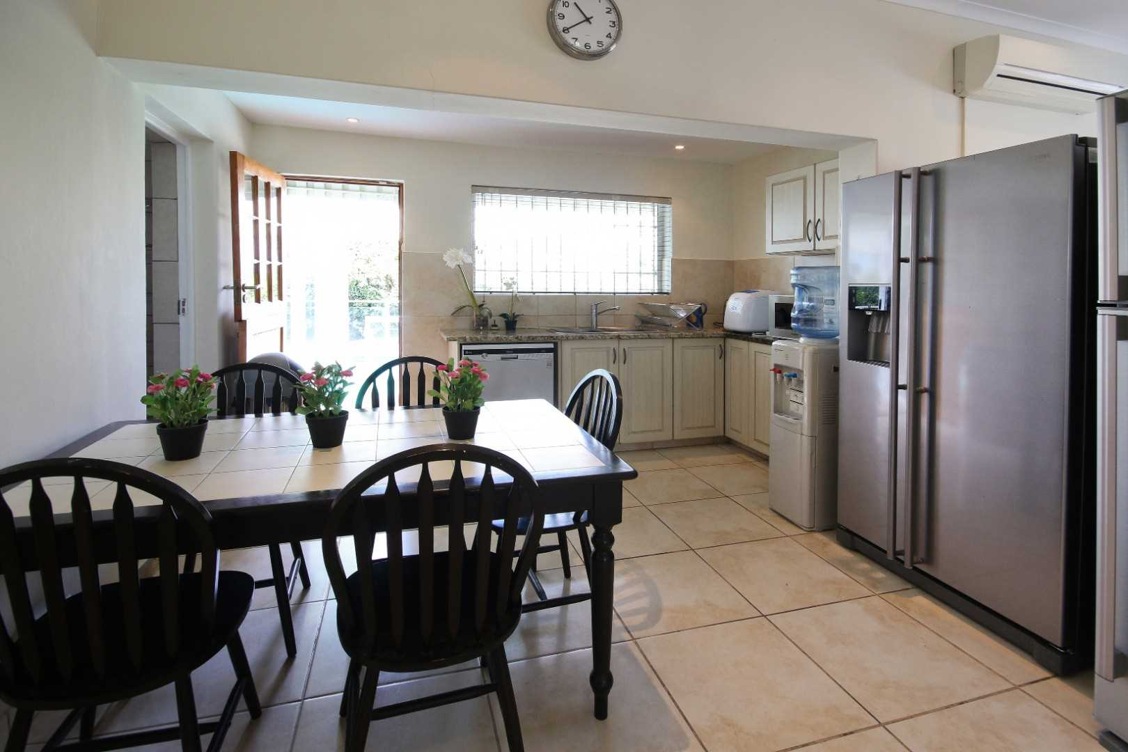 Informal dining area to scullery