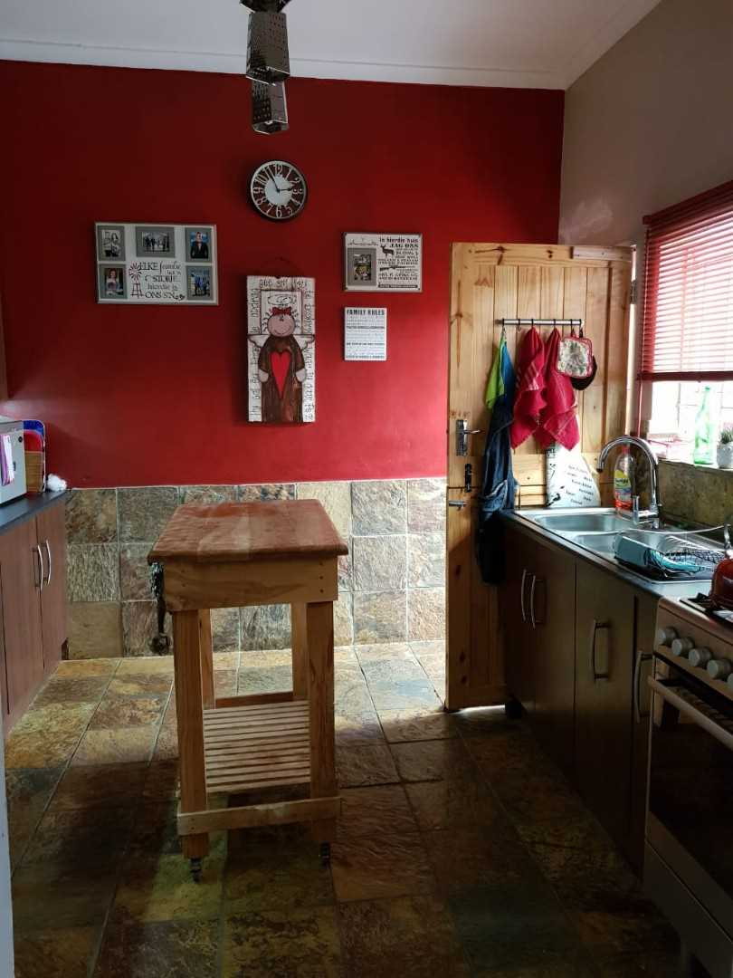 Kitchen in the main house.