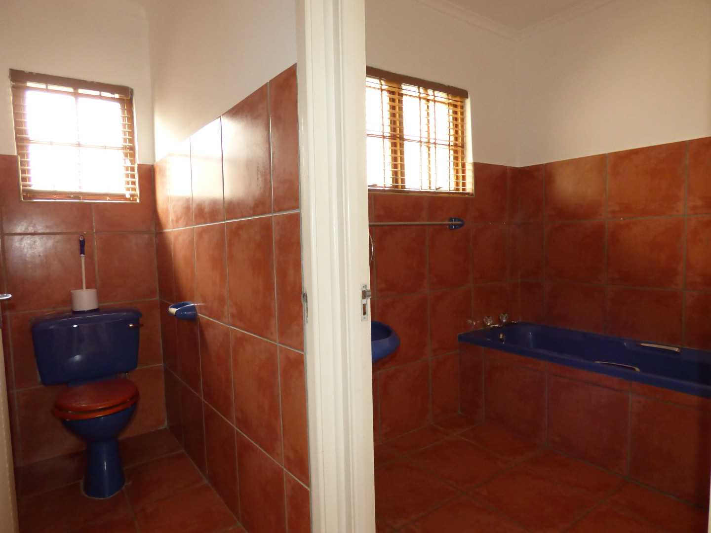 Separate Loo & Bathroom.