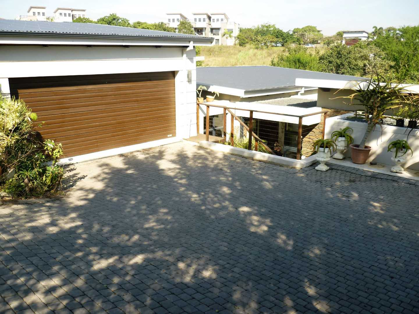 Double Garage with Lots of parking space.