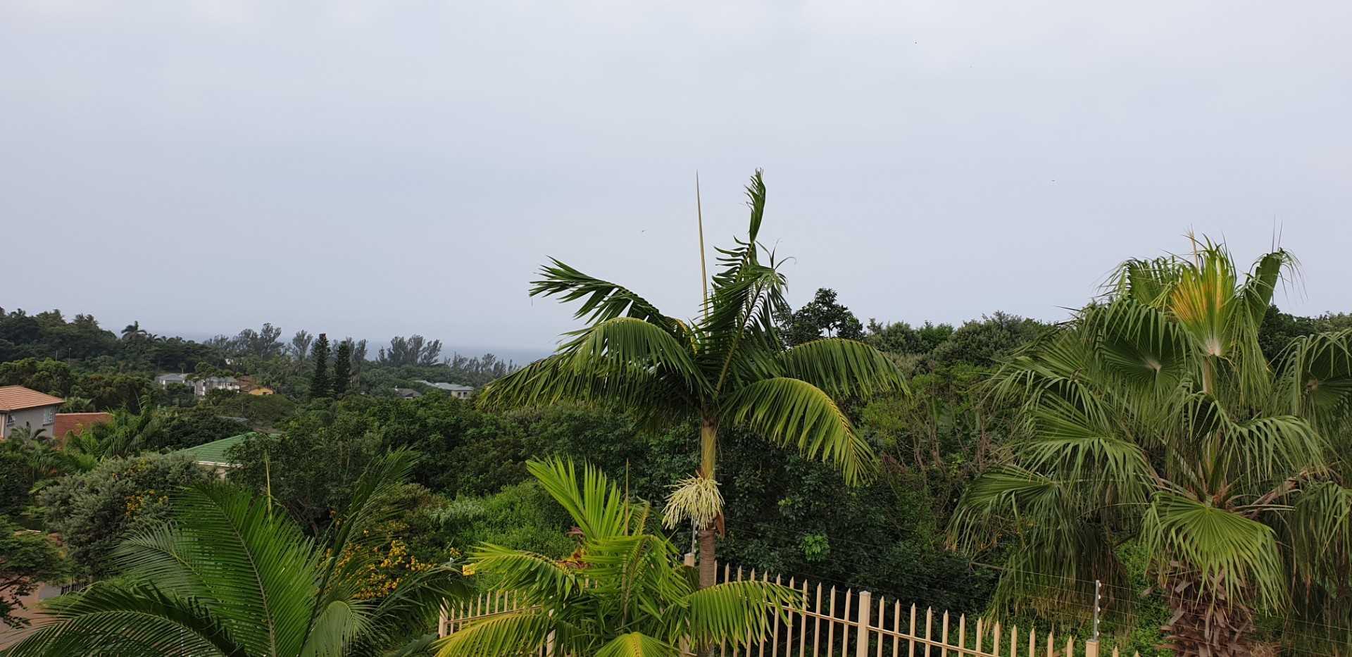 Slight sea view from front balcony