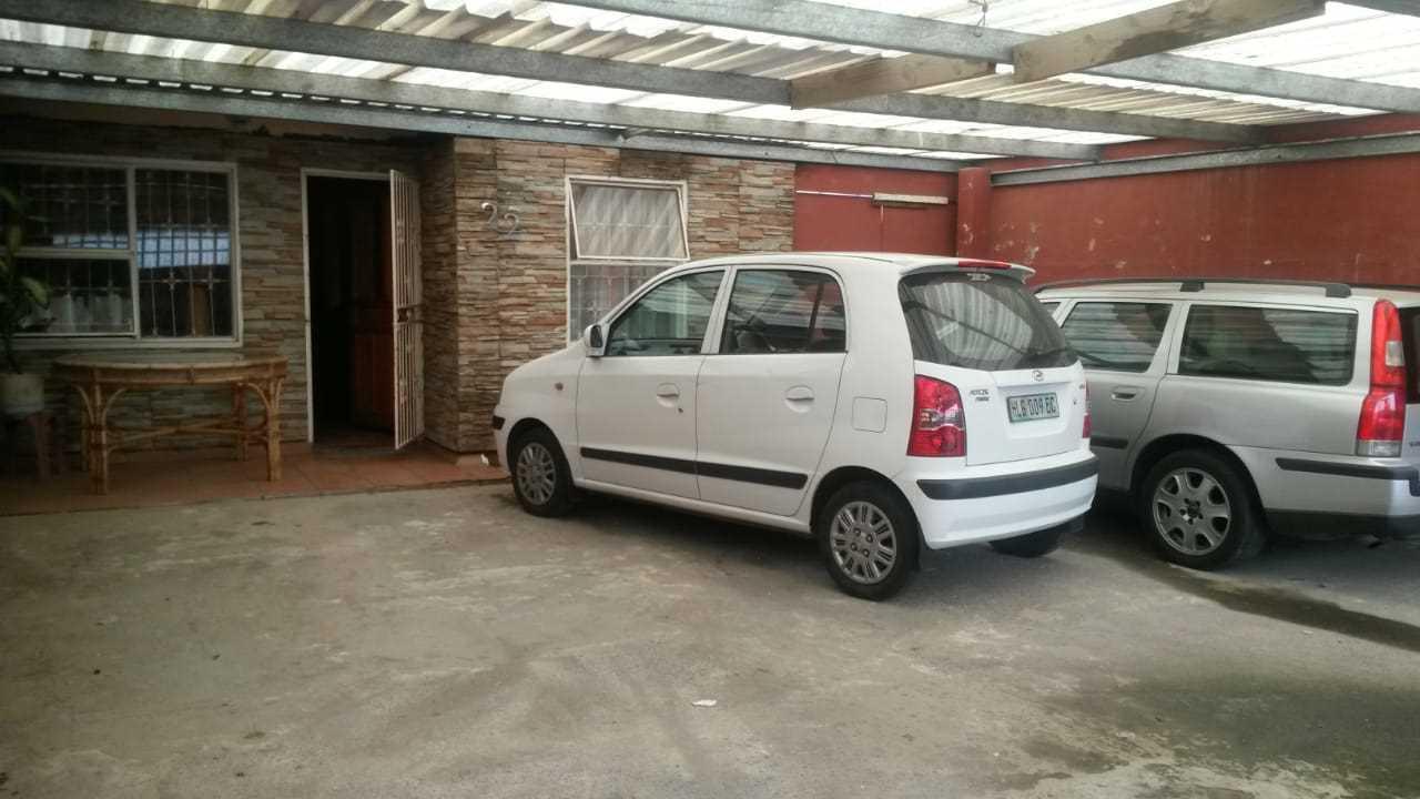 Enclosed carport for 4 cars