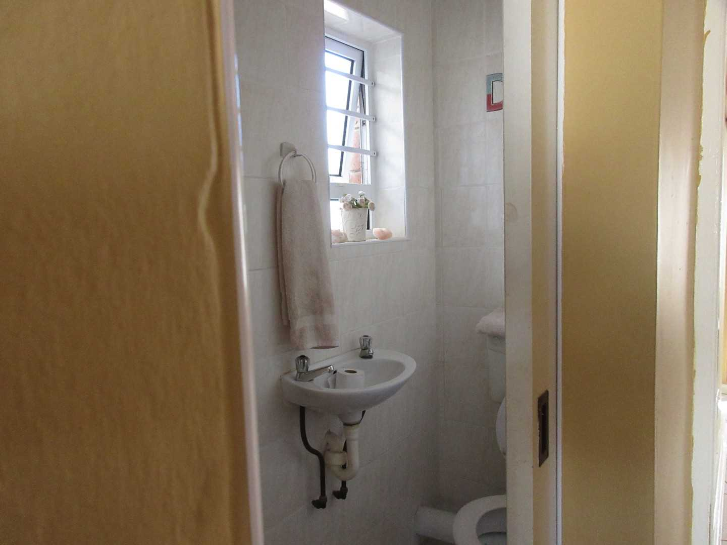 Guest toilet on right wing of the home