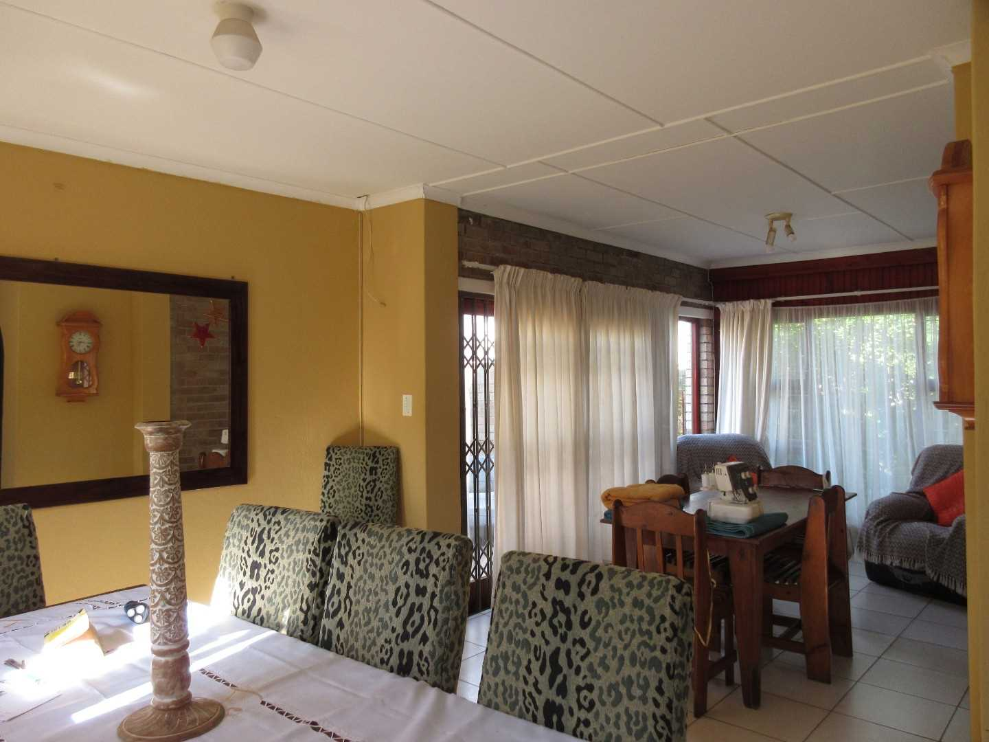 dining room and informal living room