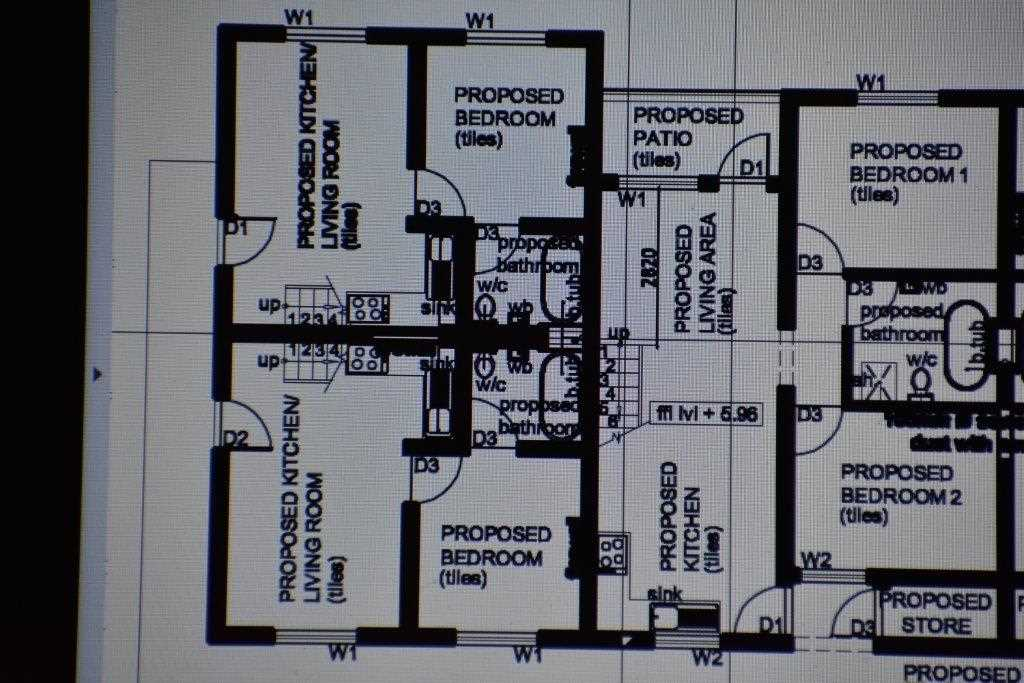 Enlargement of Floor Plan