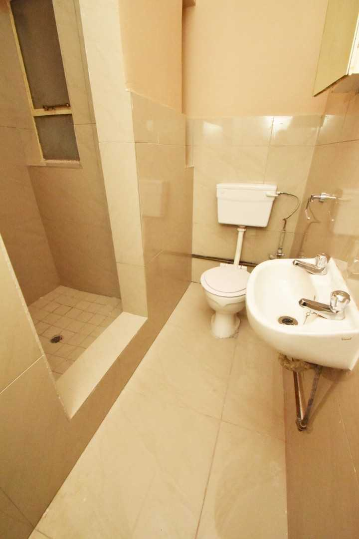 2nd bathroom offers, shower, toilet and basin