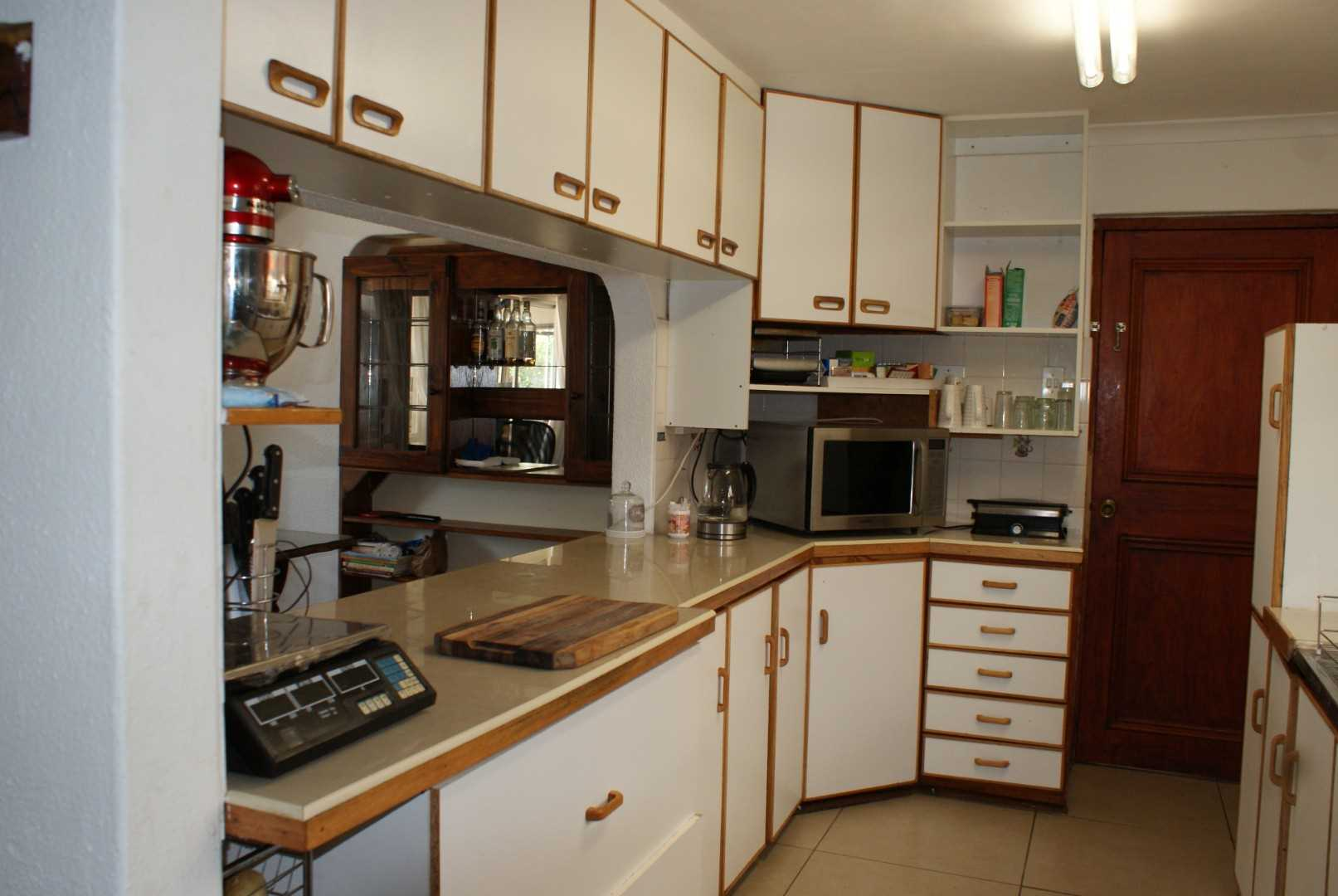 Kitchen separate scullery and pantry