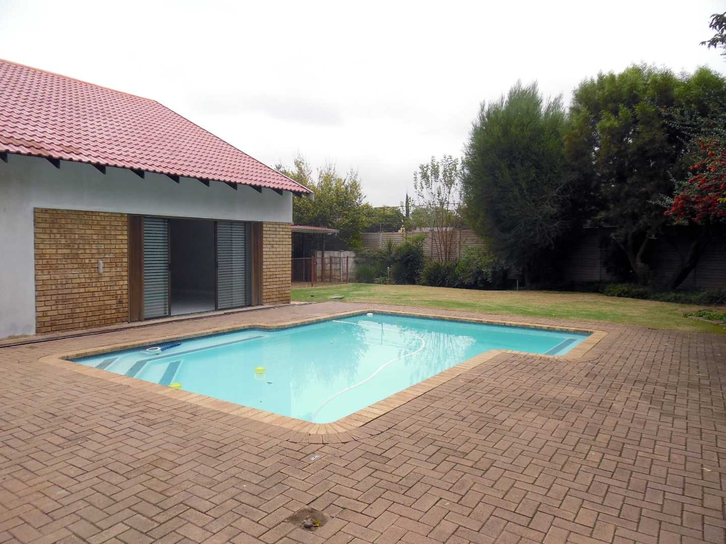 Back Garden With Pool