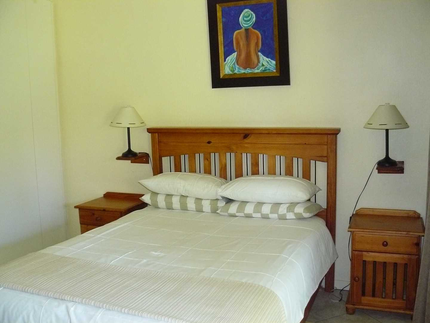 Guesthouse room.