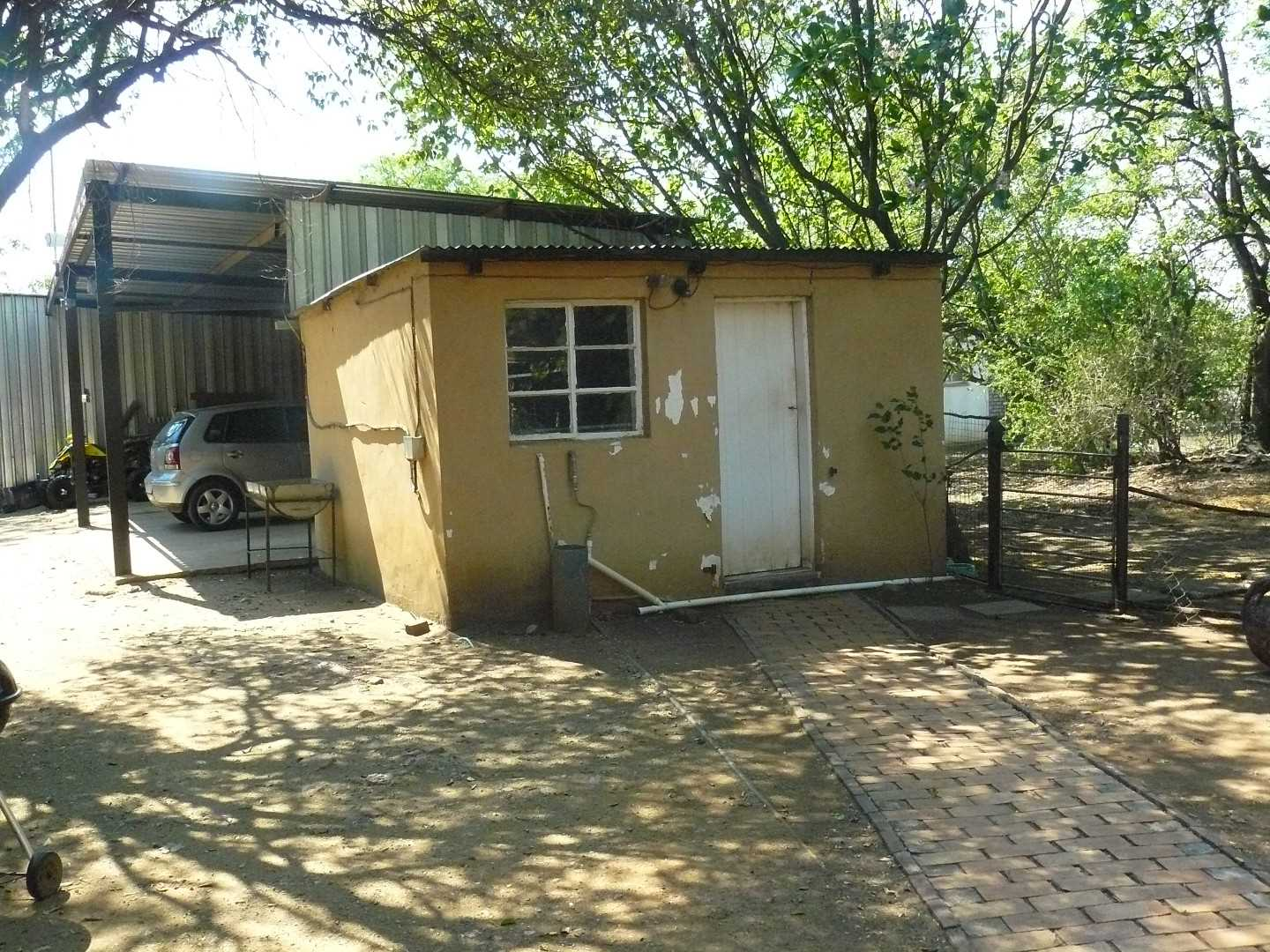 Store room and carport.
