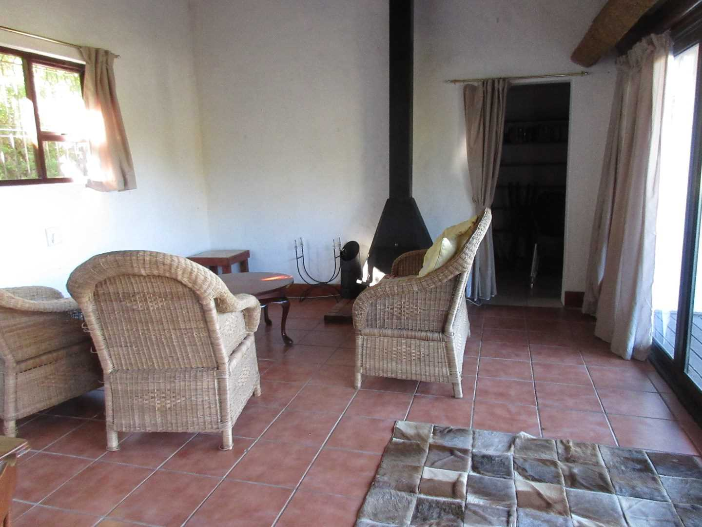Interior Thatched Dwelling