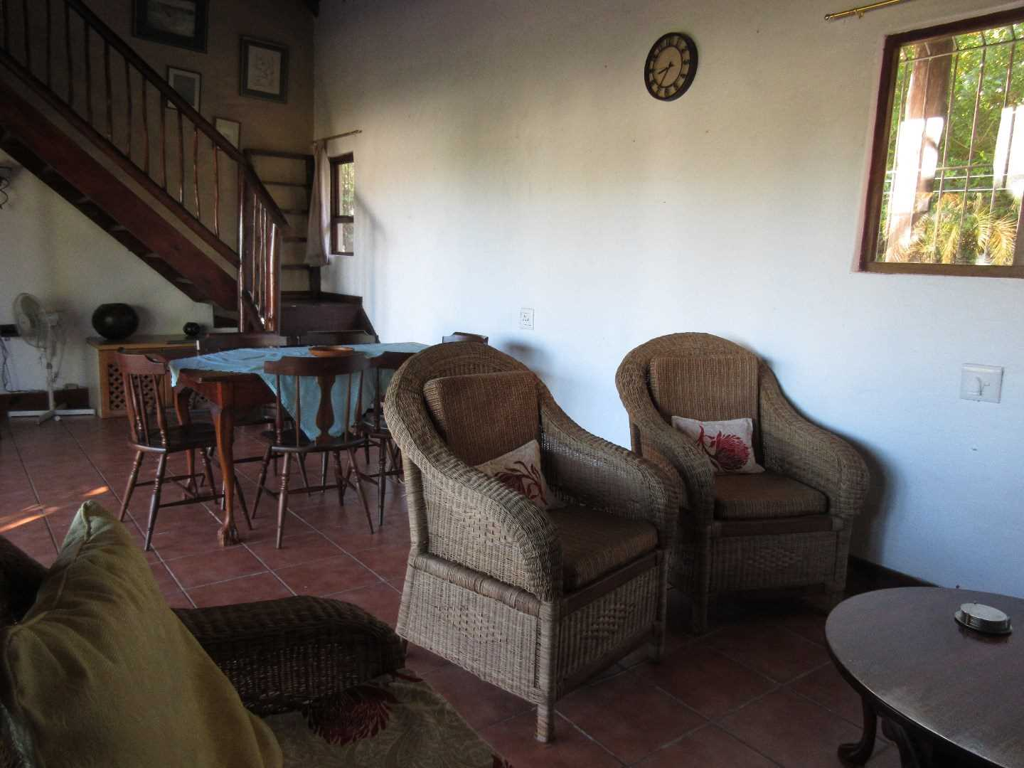 Interior of Thatched Dwelling