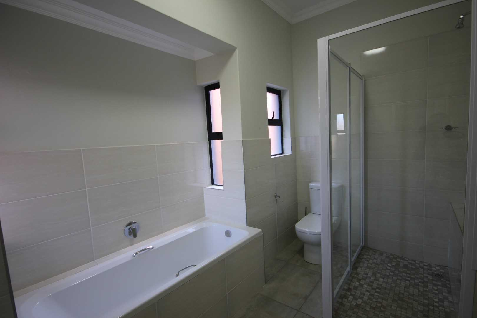 Ensuite bathroom with extra large shower