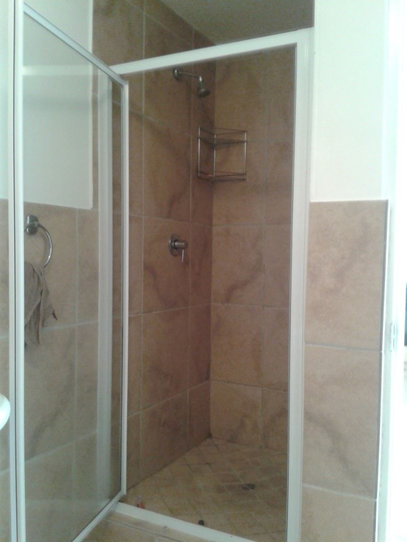 Shower cubicle of Guest Bathroom.