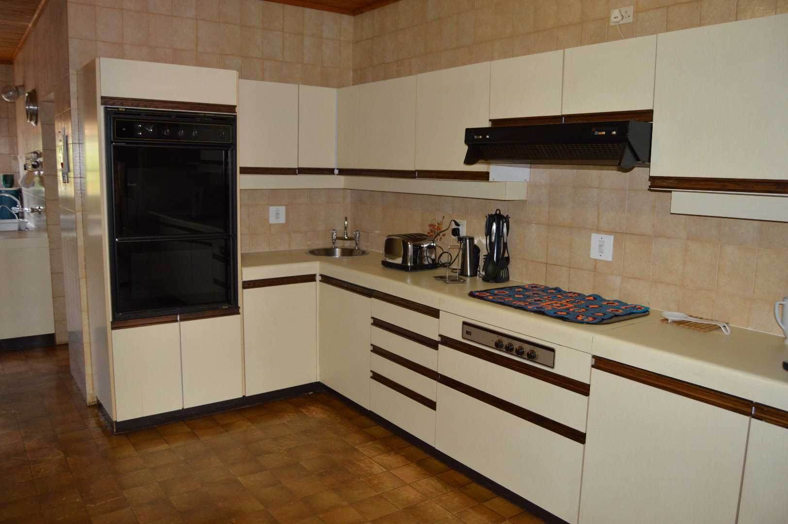 Large kitchen with huge potential
