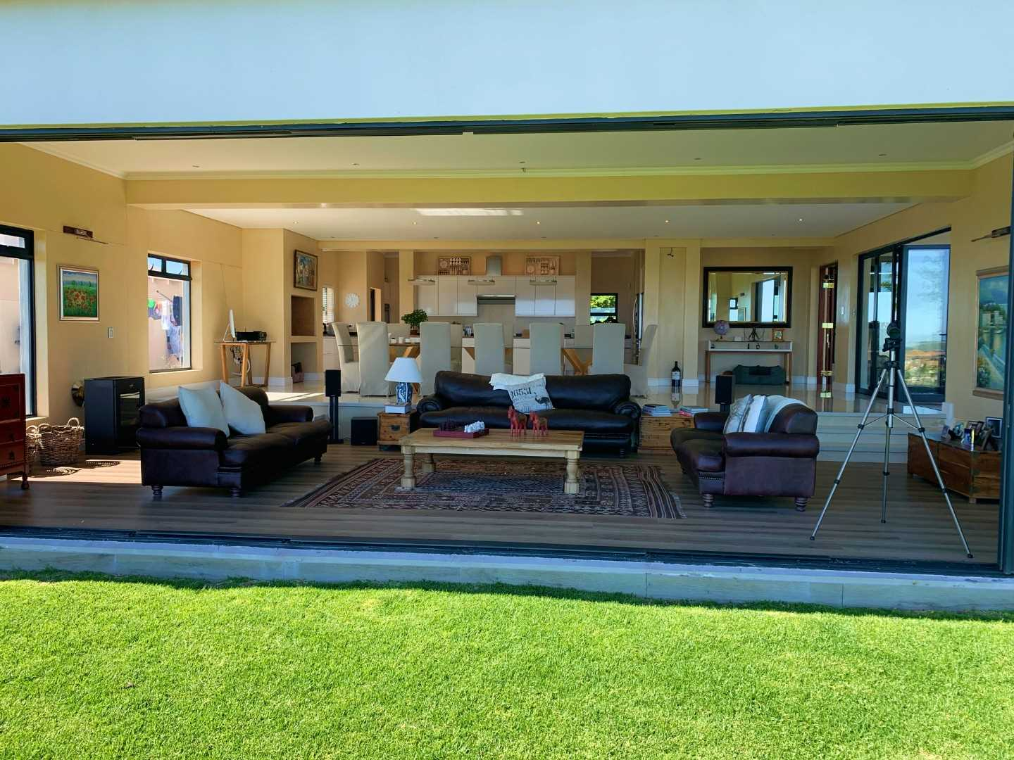 Natural  and effortless indoor to outdoor flow for those perfect Langebaan days