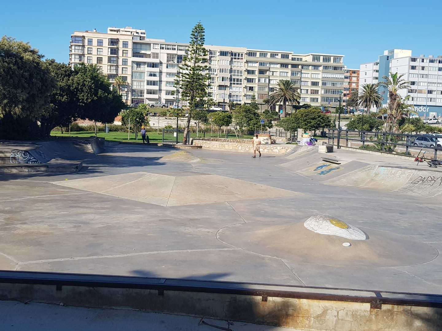 Skate board park by Kings Beach