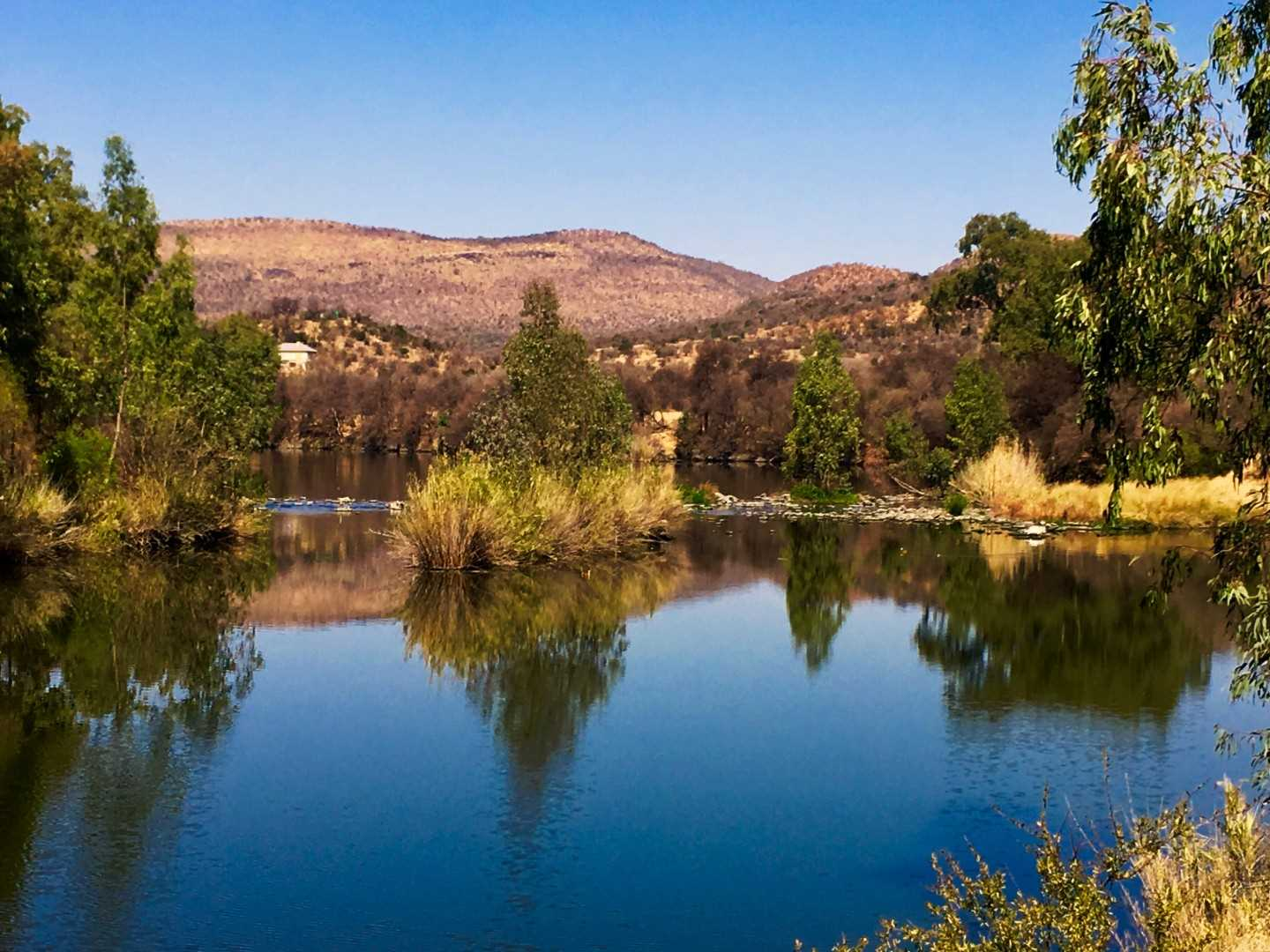 Vaal River farm in the Vredefort Dome
