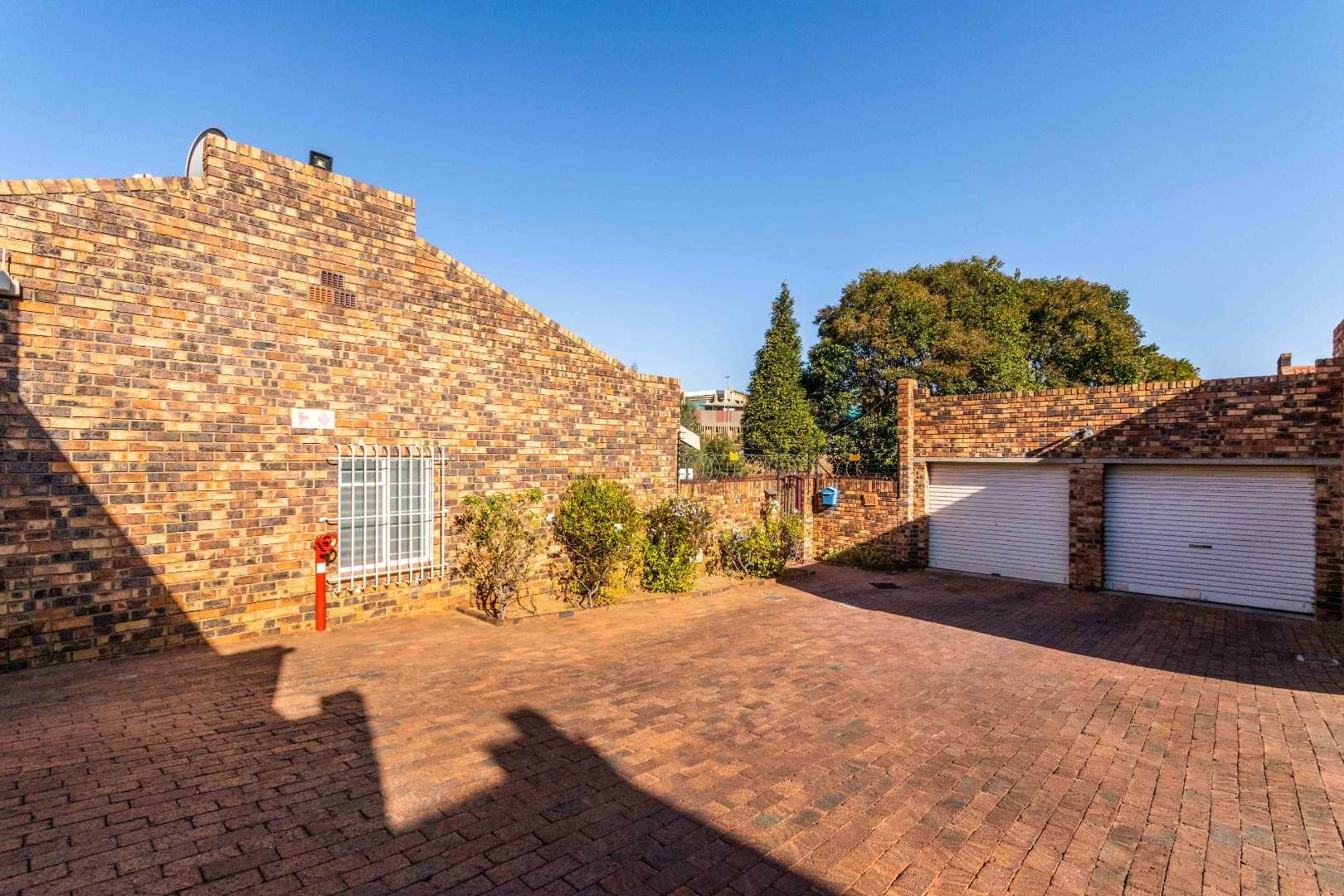 Front entrance with ample garage with visitors & family