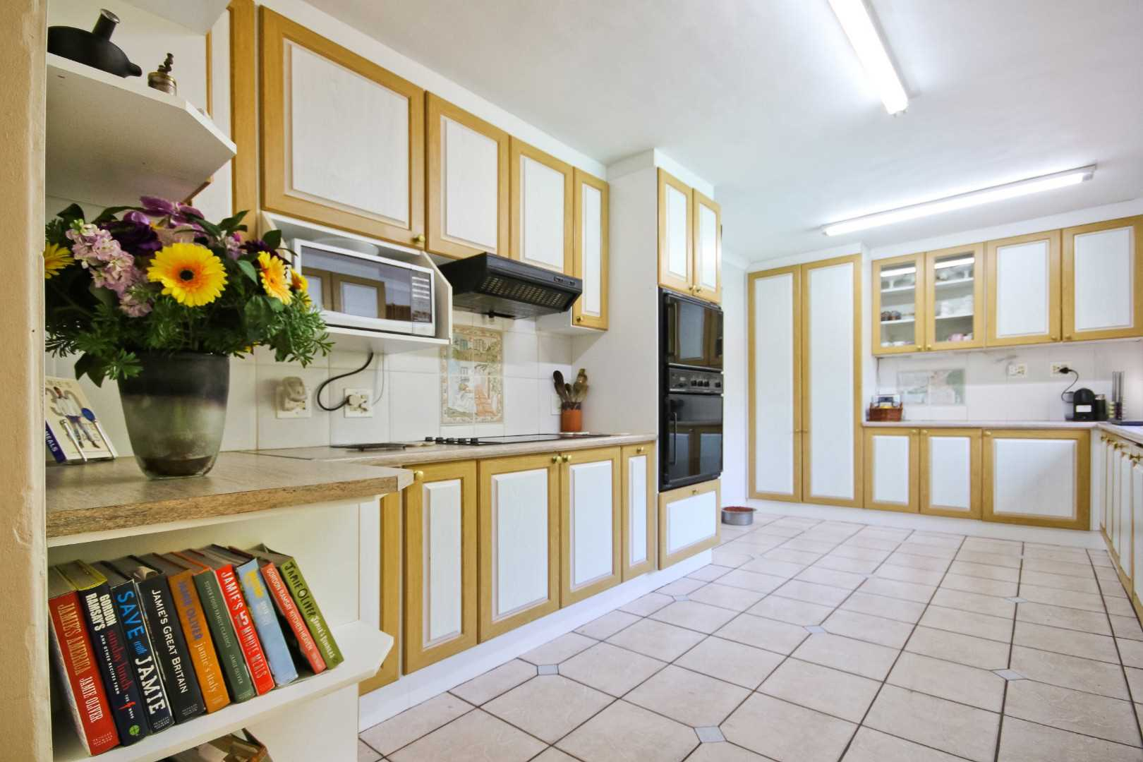 Kitchen with separate scullery