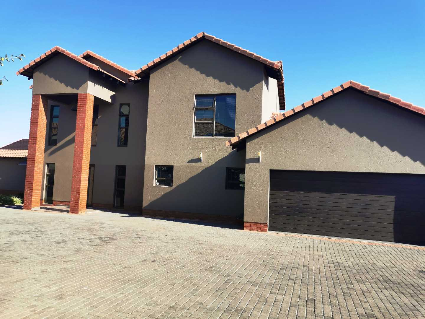 On Show by Appointment. Modern and Secure family house