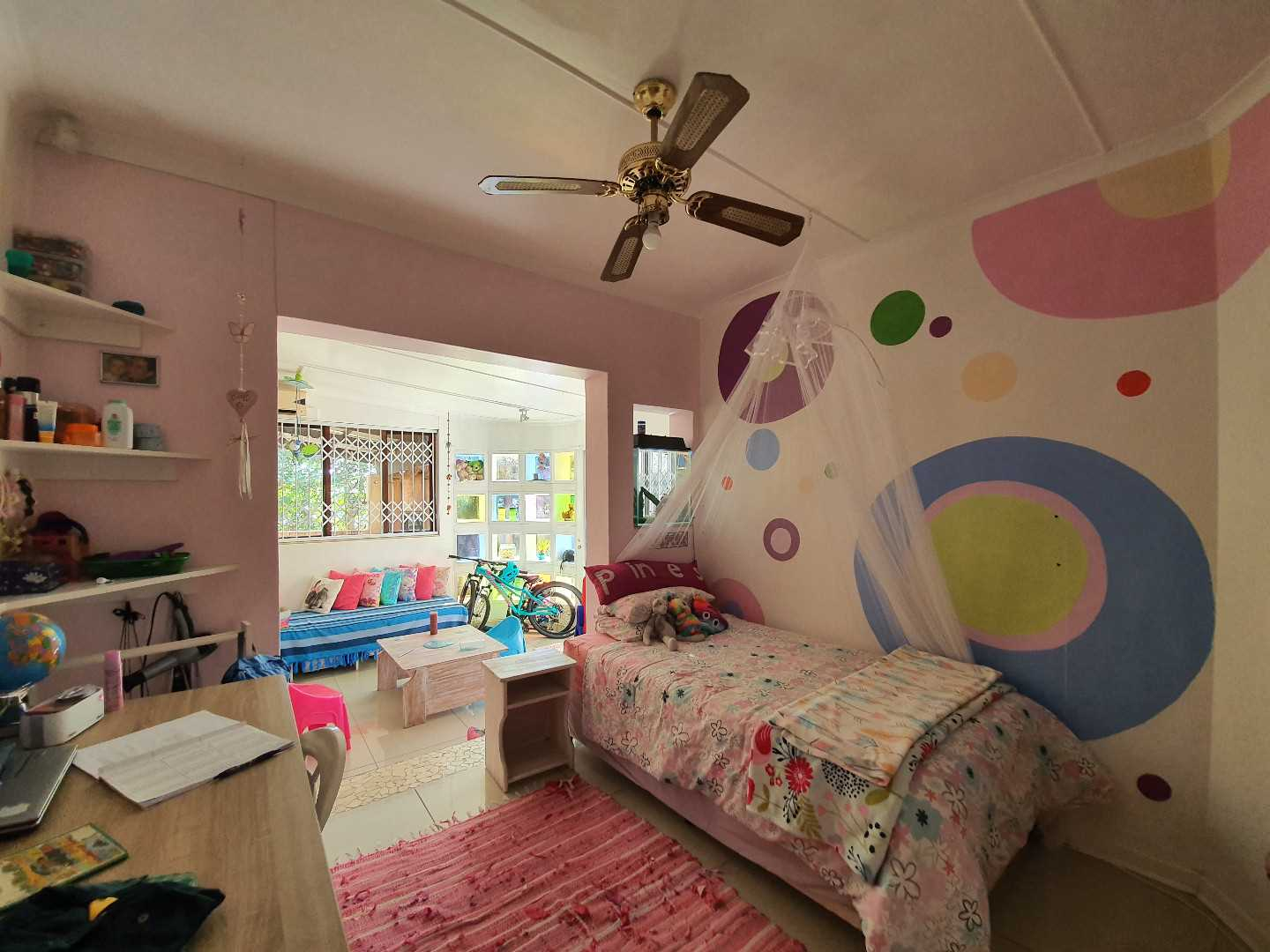 Bedroom 2 with play area