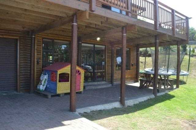 Ground floor with granny flat and double garages