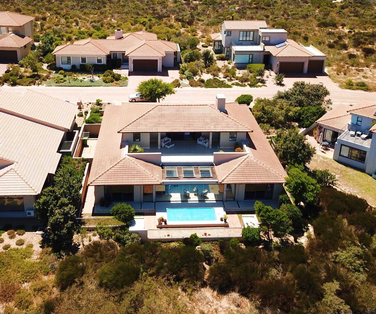Aerial view of this Executive Home