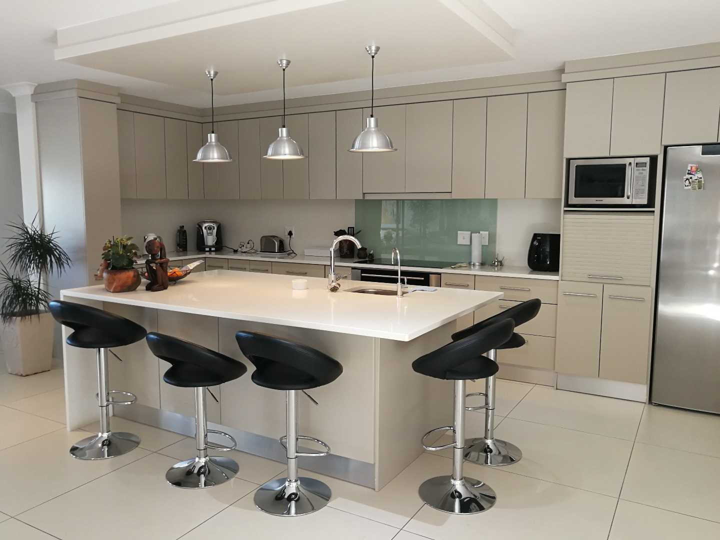 Designer open plan kitchen