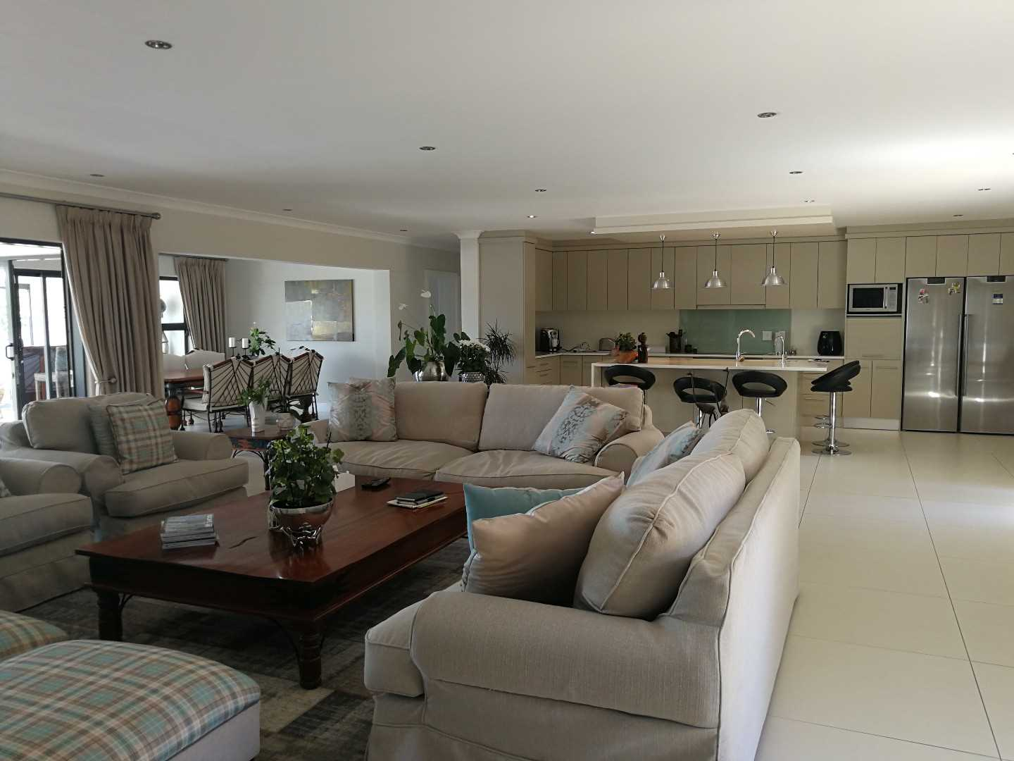 Formal  lounge and open plan living at its best!