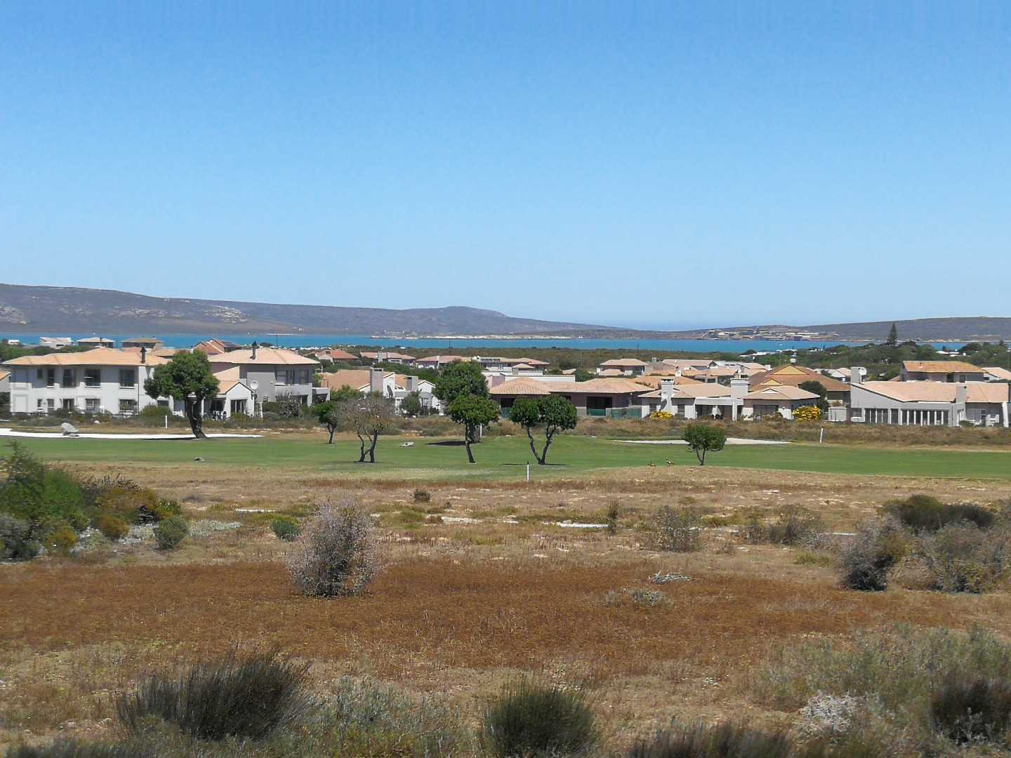 Views over the greenbelt, fairway and lagoon