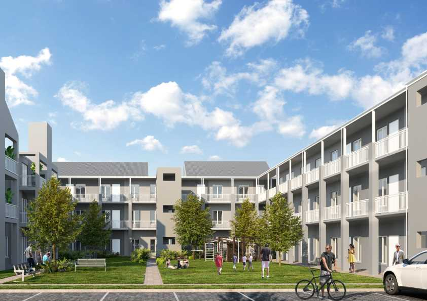 Hawequa two-bedroom units in ever the popular Haasendal
