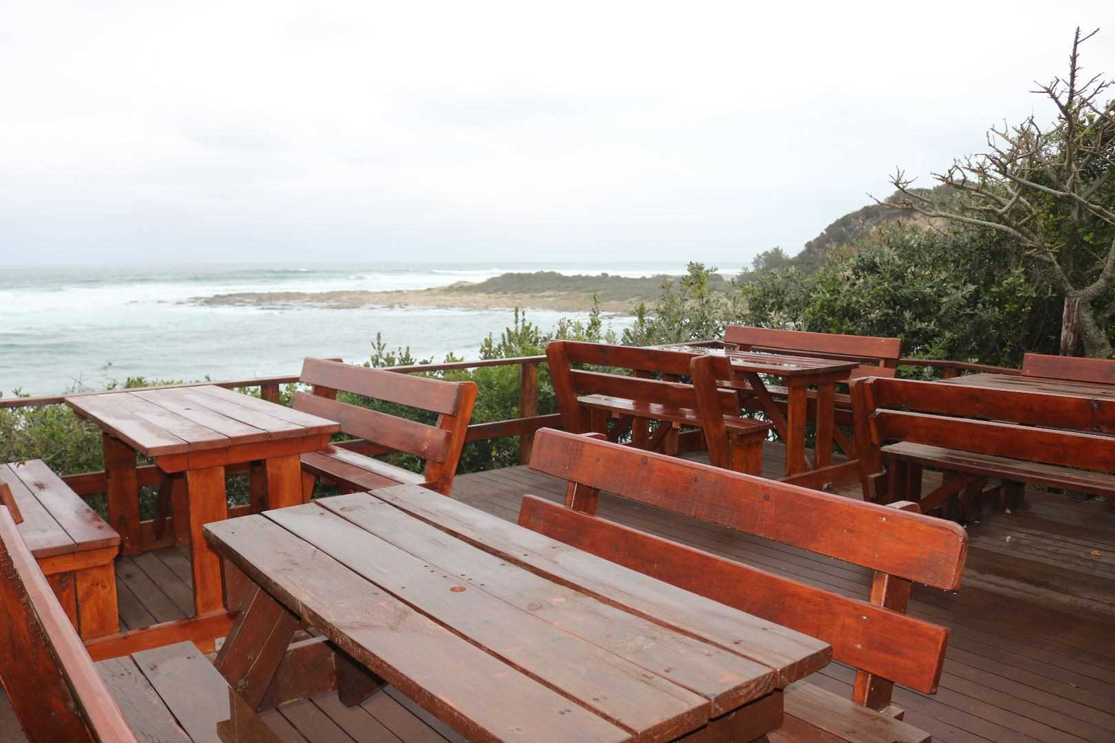 SEATING AREA OFF THE BOARDWALK