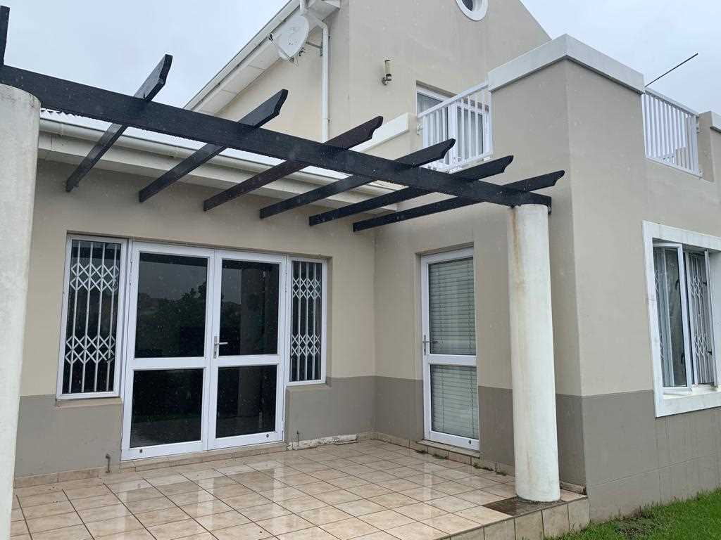 Front View Aluminum Windows Tiled Roof