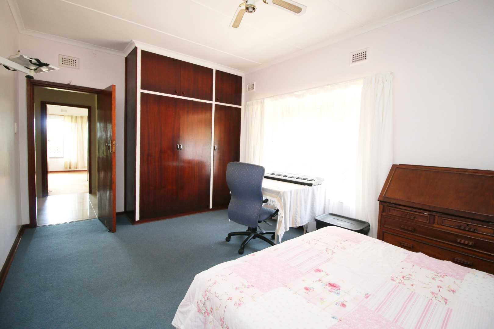 Spacious second bedroom with BIC